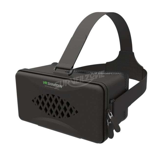 VR Shinecon Y003 Glasses Google Cardboard 360 Video Headset For 4-6 Inch Phone