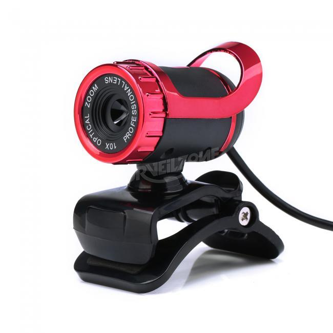 HXSJ A859 12.0M Pixels Webcam With Sound Absorbing Microphone Mic