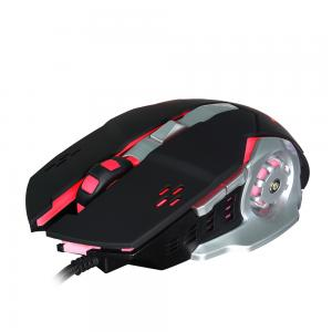 HXSJ H500 6 Buttons 3200 DPI Colorful Backlight Wired Optical Gaming Mouse