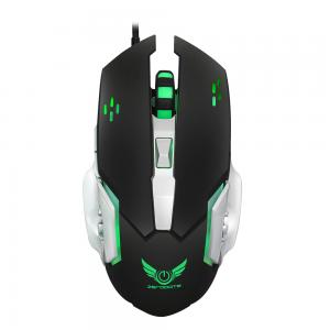 HXSJ X500 6 Buttons USB Wired Optical Cooling LED Backlit Gaming Mouse