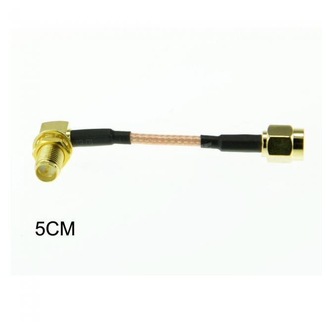 5cm Cable RPSMA to Right Angle RPSMA