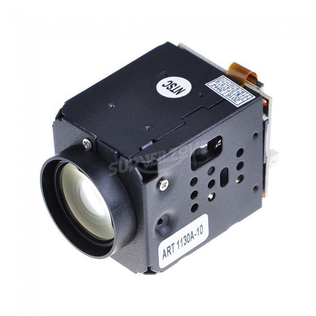 FPV 10X Zoom CMOS 700TVL Camera for 1.2G/5.8G Telemetry