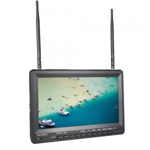 5.8G 32ch 10.1 Inch High Brightness FPV Monitor HD 1024*600 Snow Screen Inbuilt DVR and Battery