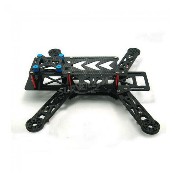 RC 280 Ultra light All Carbon Fiber Quad Multi-Rotor DIY frame for FPV