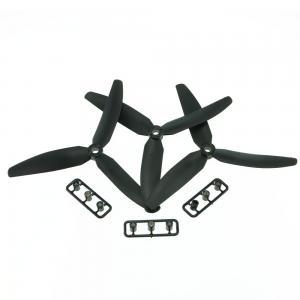 3 Pairs Gemfan 5030 Plastic 3-blade Propeller for FPV QAV250 Multirotor Quadcopter
