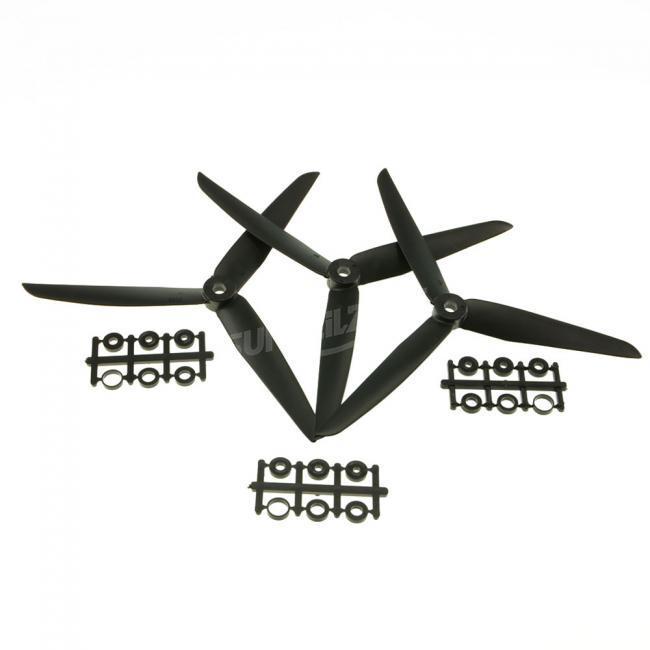 3 Pairs Gemfan 7035 Plastic 3-blade Propeller for FPV Multirotor Quadcopter