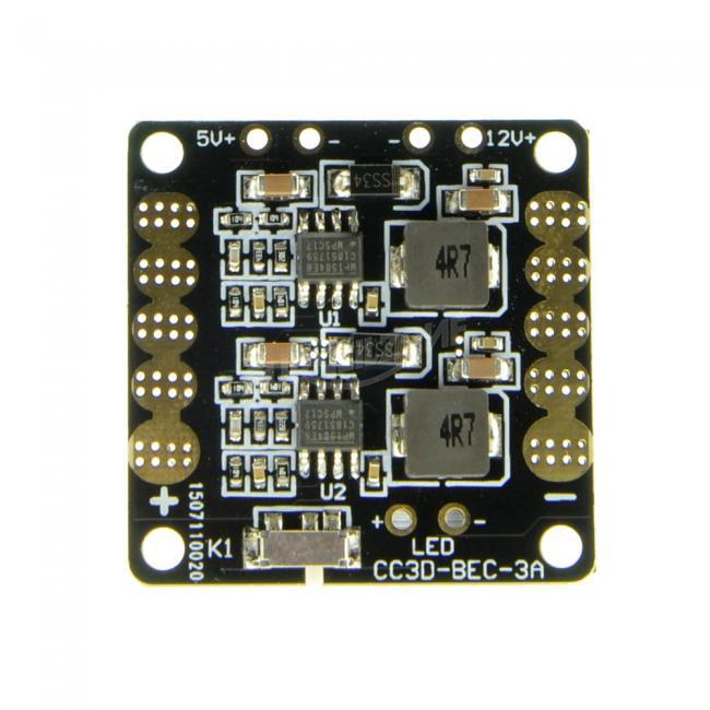 Foxeer CC3D Power Board with 12V/5V Dual UBEC 12V PDB