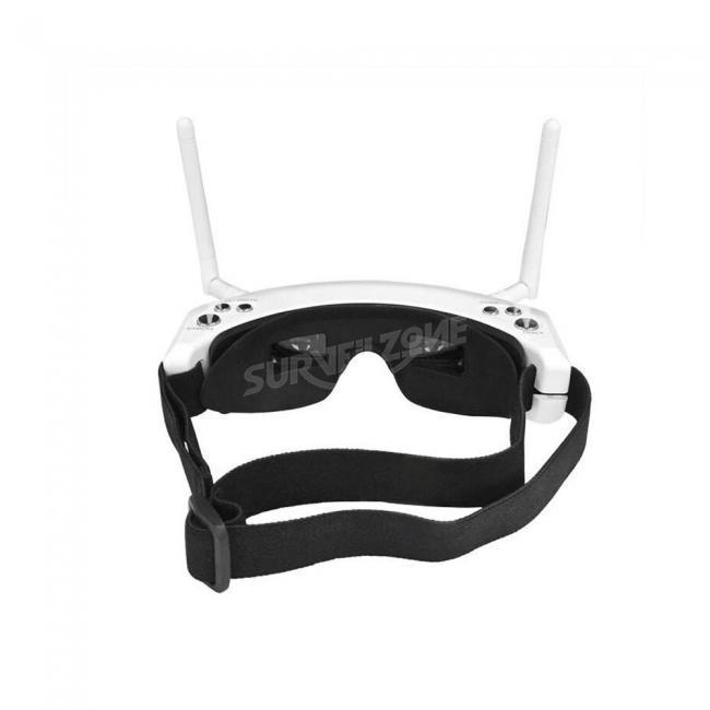 Skyzone SKY02S V 3D 5.8G 40CH FPV Goggles With Head Tracking HDMI DVR Playback