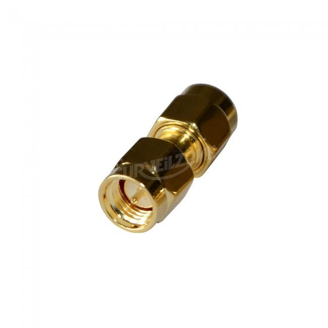 2pcs Straight Adapter for Antenna SMA RPSMA