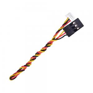 14cm Power Video 4pin 1.25mm to 2.54mm servo FPV cable