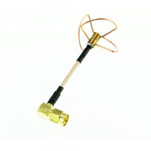 5.8G Circular Polarized VTx RHCP Antenna Right Angle SMA RPSMA
