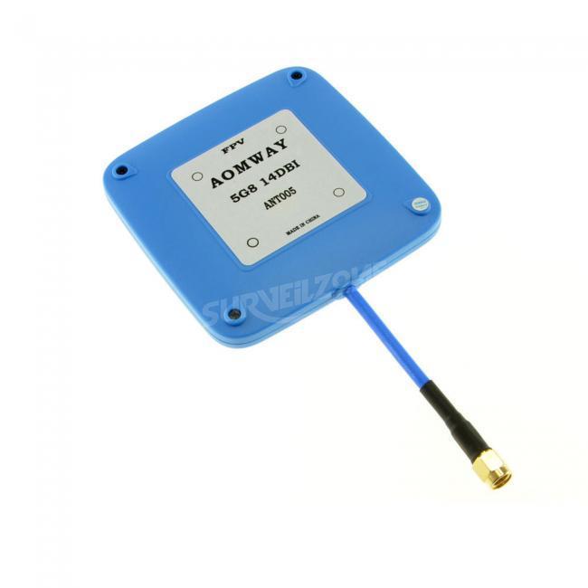 Aomway 5.8GHz 14dBi High Gain FPV Receiver Antenna SMA RPSMA