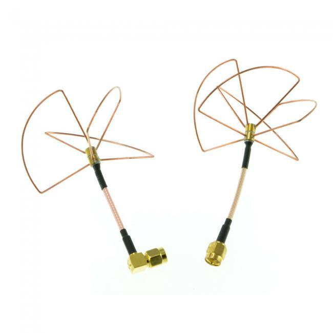 2.4Ghz Circular-polarized Omni Cloud Spirit TX RX Antennas for FPV