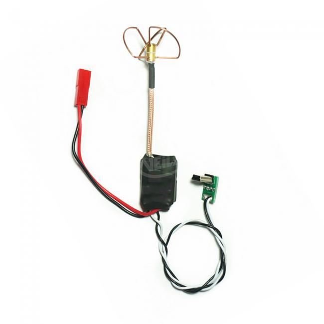 5.8G 8CH 200mW Wireless Transmitter with Clover Antenna