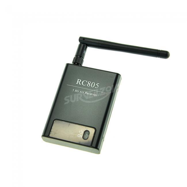 Boscam RC805 5.8G 8CH AV Wireless Rx for FPV