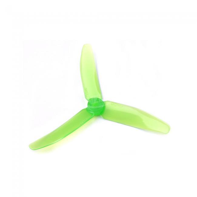 2 Pairs 3-blade DALPROP T5040 V2 Crystal Color Props for FPV Racing