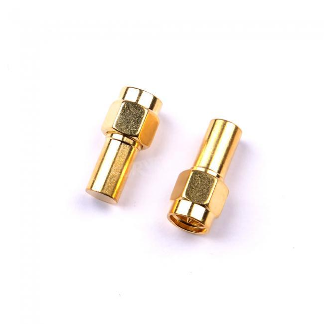 2pcs Dummy Load 1W male plug RF coaxial Termination loads