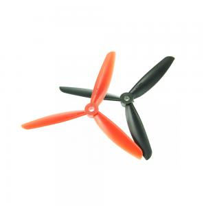 2 Pair FC 5 x 4.5″ 5045 5045R 3-blade RC Multi-copter CW CCW Propeller