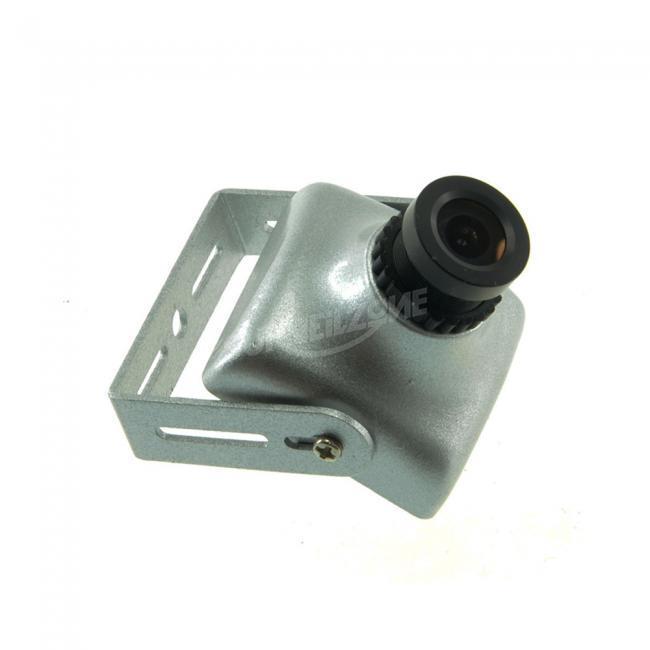 Sony Double Scan CCD Effio-V 800TVL WDR Camera 2.8mm Lens Alloy Alluminum Case