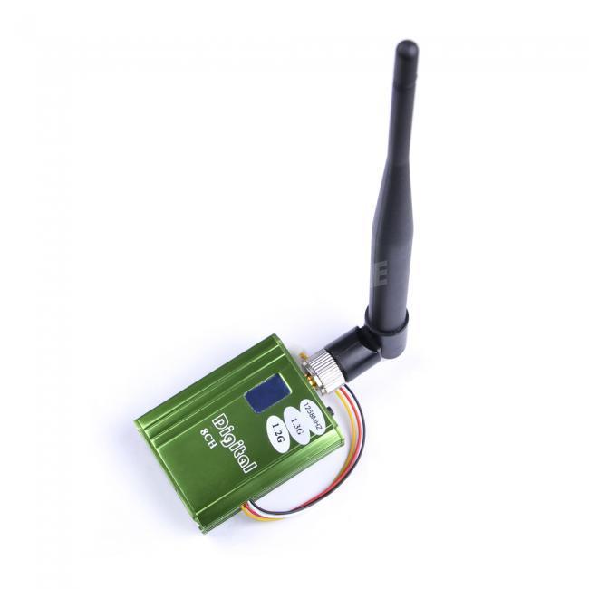 1.3GHz 2CH Video Audio 400mW Wireless Transmitter FPV 1.258GHz 1.280GHz