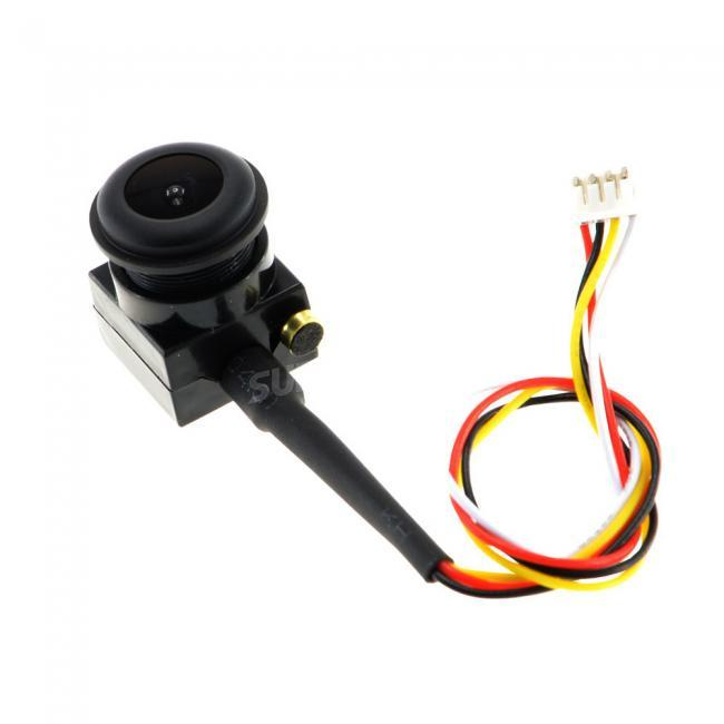 1S Battery 3.3~5V 600TVL 120 degree Angle Super Mini FPV Cased Camera MIC