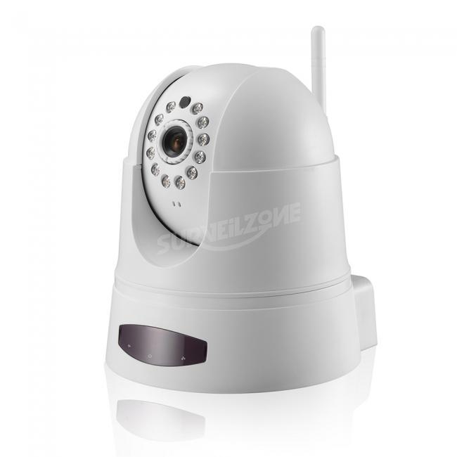 Fujikam FI360w Dome Cloud IP Camera 360Degree Monitoring Real Time 720P Video