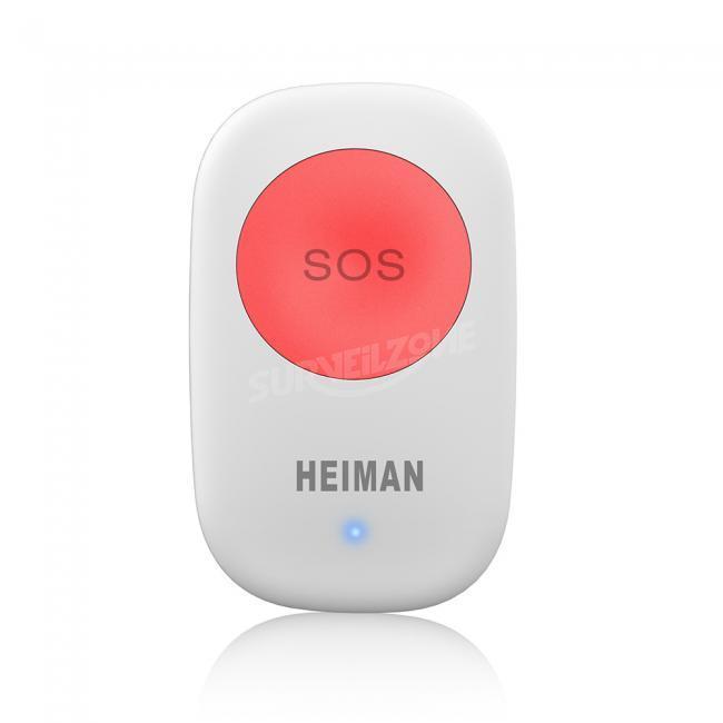 Smart Emergency Button 100m Wireless Network Distance