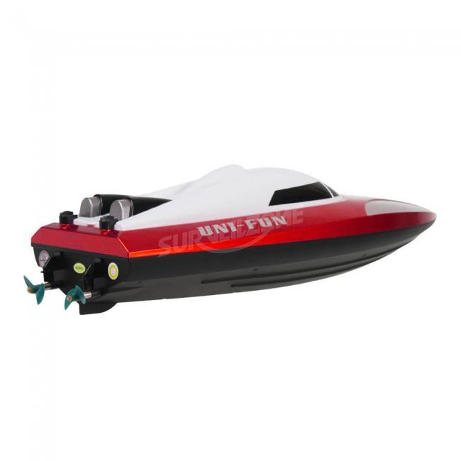 Large Size RC High Speed Warship Model Boat 100m RC Distance