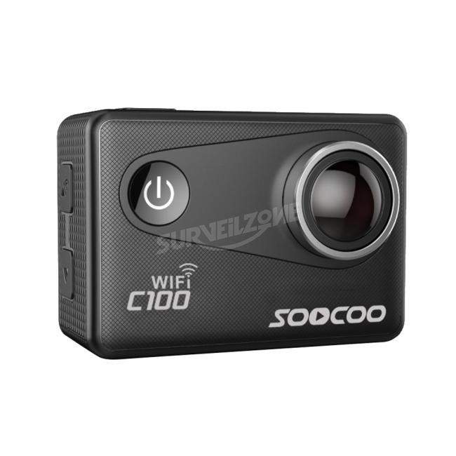 SOOCOO C100 4K WiFi Camcorder Diving Mode Voice Prompt Anti shake underwater Camera