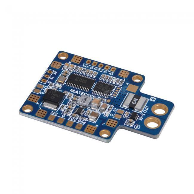 Matek HUBOSD ECO X Type W STOSD8 Current Sensor 5V 12V Dual BEC PDB With XT60 Plug