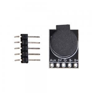 Matek Lost Model Beeper Flight Controller 5V Loud Buzzer Built In MCU for FPV Multicopters