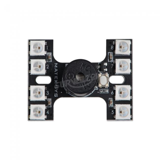 Matek LED Tail Light WS2812B With Loud Buzzer Dual Modes For FPV Racer Multicopters