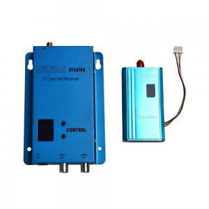 Partom 1.5G 12CH 1.5W 1500mW AV Transmitter 250mA Receiver FPV Combo TX RX Set