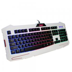 HXSJ X10 104 Keys USB Wired Rainbow Backlight Gaming Keyboard For PC Computer Laptop