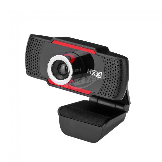 HXSJ S30 Foldable 720P HD Webcam Computer Camera With Sound Absorbing Microphone Mic