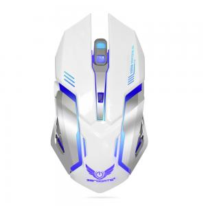 HXSJ X70 6 Buttons 7 Colors Breathing Light Wireless Gaming Mouse