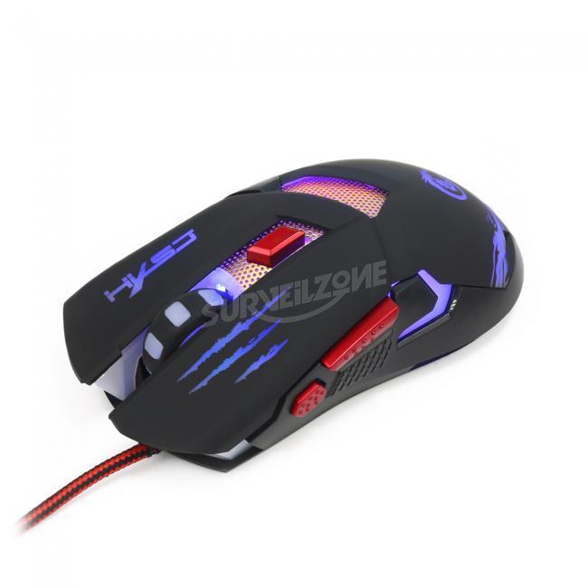 HXSJ H400 Metal Backplane Gaming Mouse