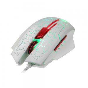 HXSJ H800 Fire Bird 6D 5500 DPI Colorful Backlight Wired Optical Gaming Mouse