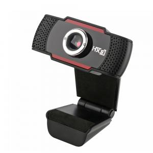 HXSJ S20 Webcam Computer Camera With Sound Absorbing Microphone Mic