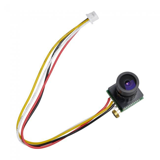 600TVL 110 degree Wide Angle Super Mini FPV Camera MIC