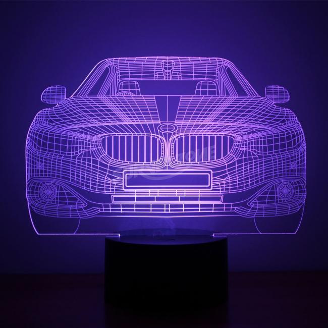 BMW Design Night Light Remote Control Touch Tone