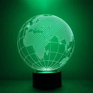 The Earth Design Night Light Remote Control Touch Tone