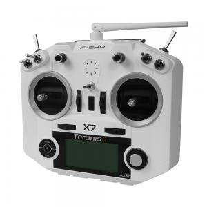 FrSky 2.4G ACCST Taranis Q X7 16 Channels Transmitter White And Black Color
