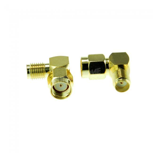 2pcs L Type Adapter for Antenna SMA RPSMA