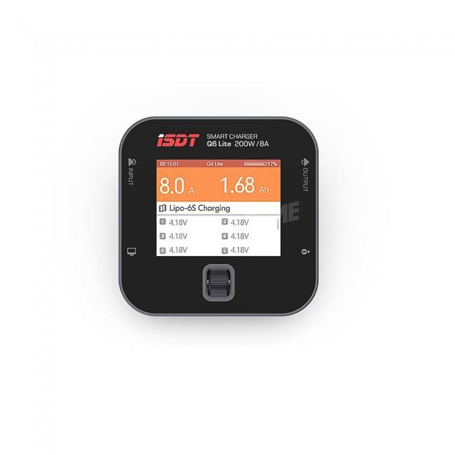 """iSDT Q6 Lite 200w Smart Charger with 2.4"""" Display"""
