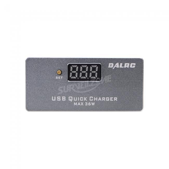 DALRC USB Charger Support QC3.0 / FCP / PE2.0 Mobile Phone Quick Charger