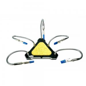STP Starpower Five Arms Aluminum Alloy CNC Functional Strange Five Hand Triangle Soldering Station