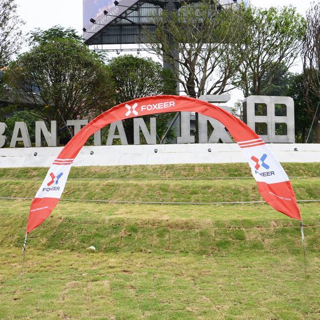 FPV Racing Air Gate with Foxeer Logo