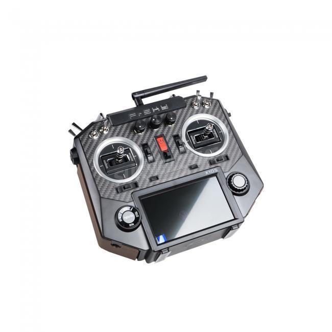 FrSky Horus X10s Carbon 16CH 2.4ghz RC transmitter System with MC12 CNC Hall Sensor Gimbals