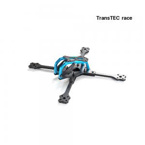 TransTEC Lightning Race 215mm 4mm 3K Full Carbon Fiber Frame Kit Blue/ Lightning pro with Kevlar Fiber